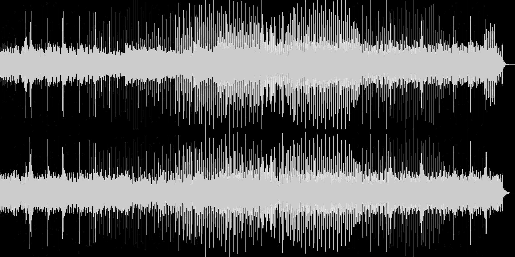 ベルが奏でる美しくも悲しいメロディの未再生の波形