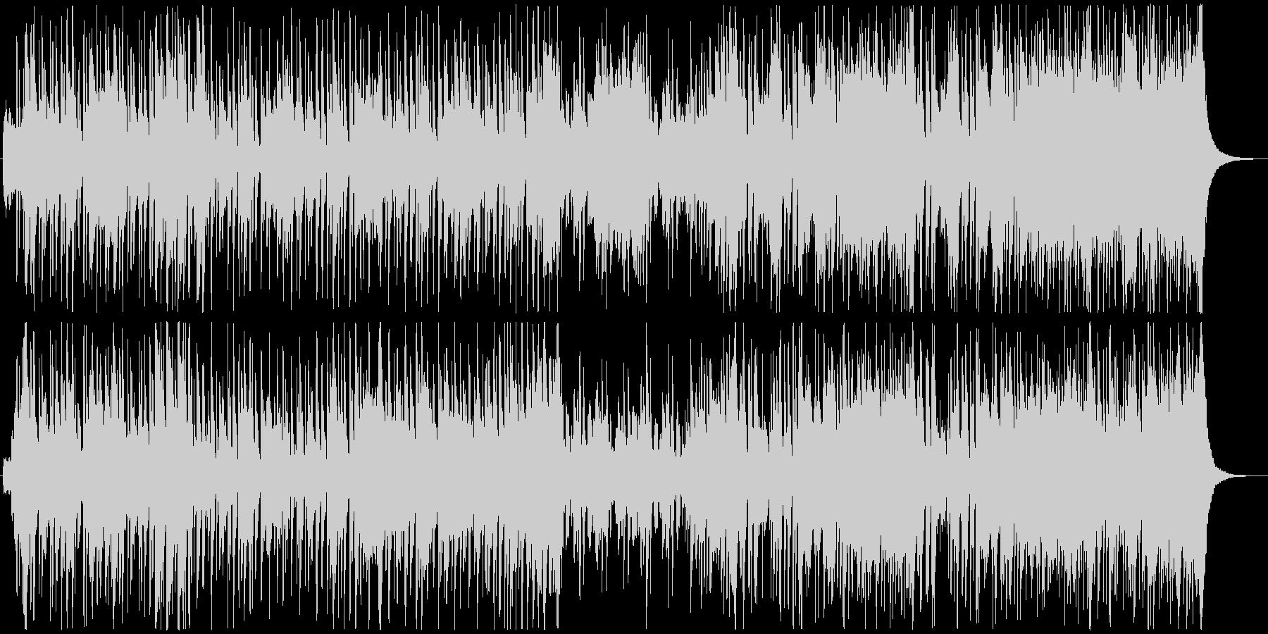 オープニングに最適なクラシックポップの未再生の波形