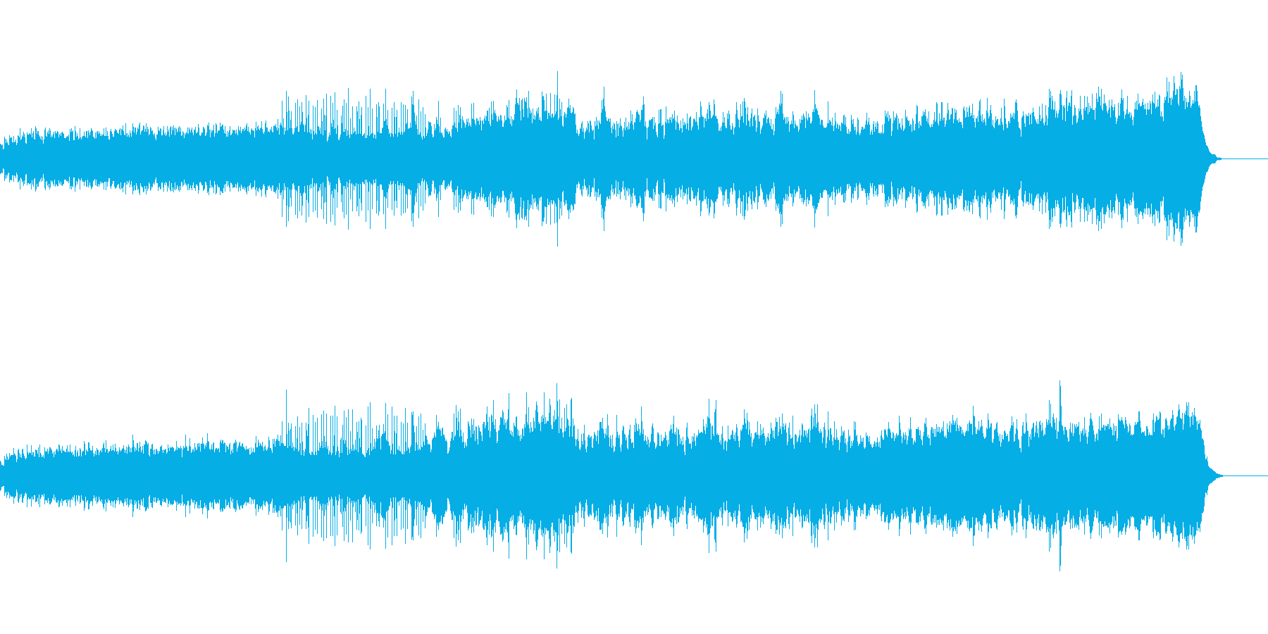 題名の通り躍動感ある曲になっています。…の再生済みの波形
