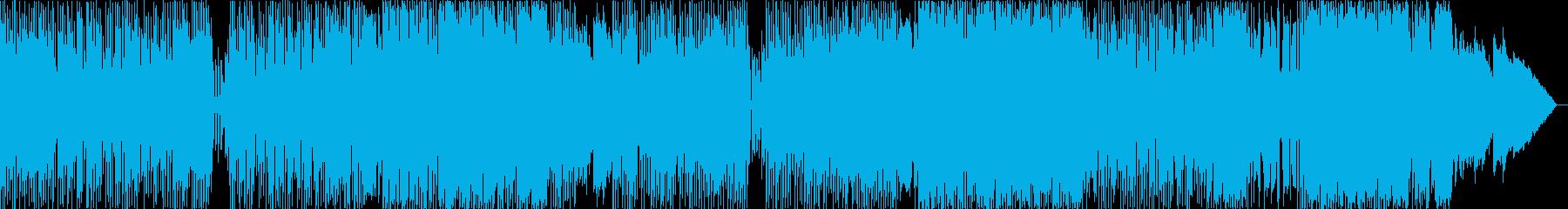 ピアノが心地良い王道ポップスの再生済みの波形