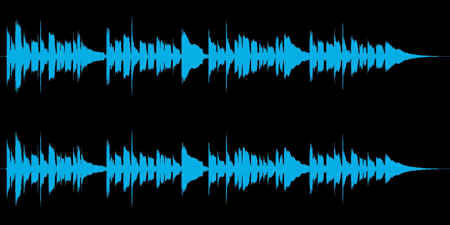 童謡 こいのぼり 鯉のぼり アコギ 5月の再生済みの波形