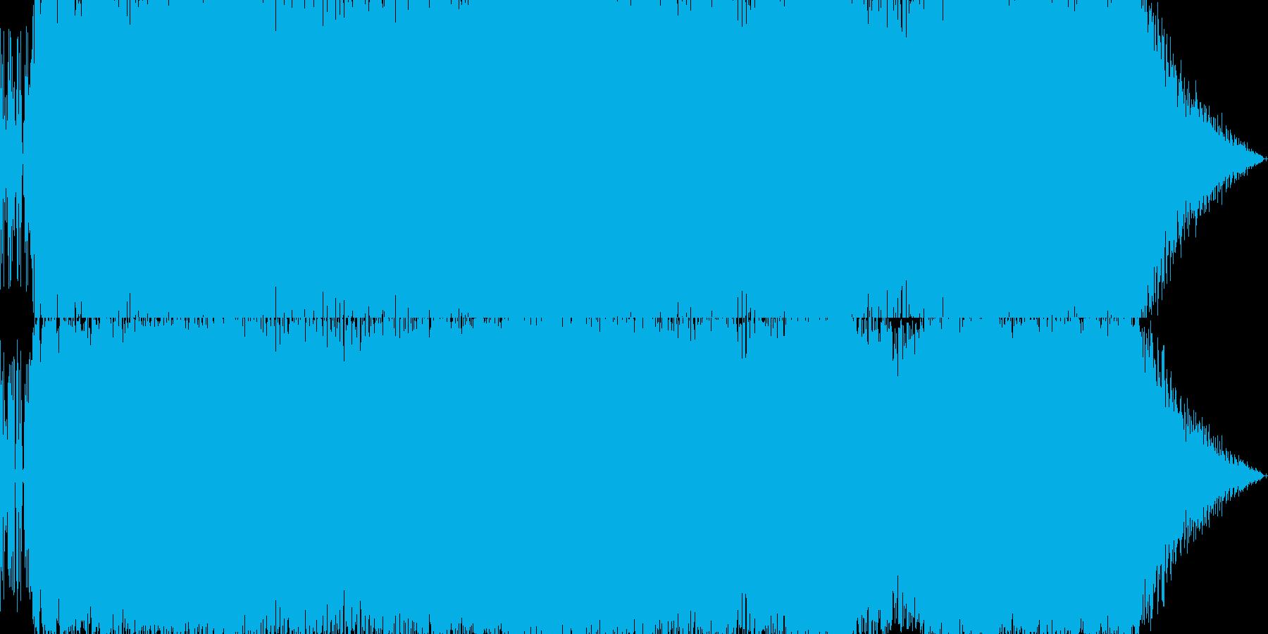 テクノ+ストリングスの戦闘曲の再生済みの波形