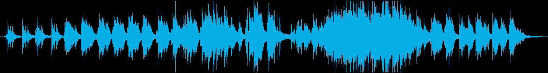 静かに強く思いを馳せるバラードの再生済みの波形