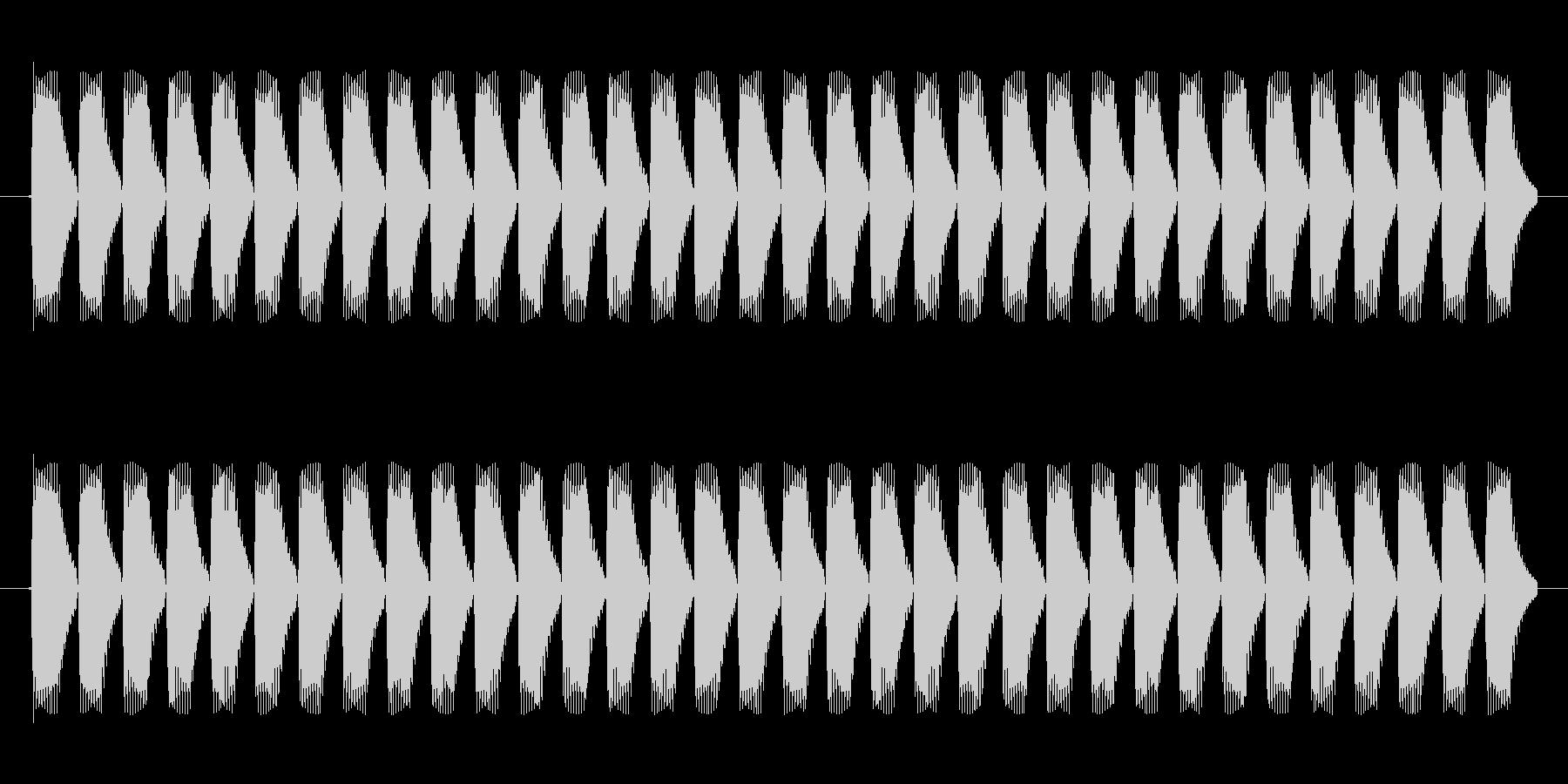 HPゲージの効果音の未再生の波形