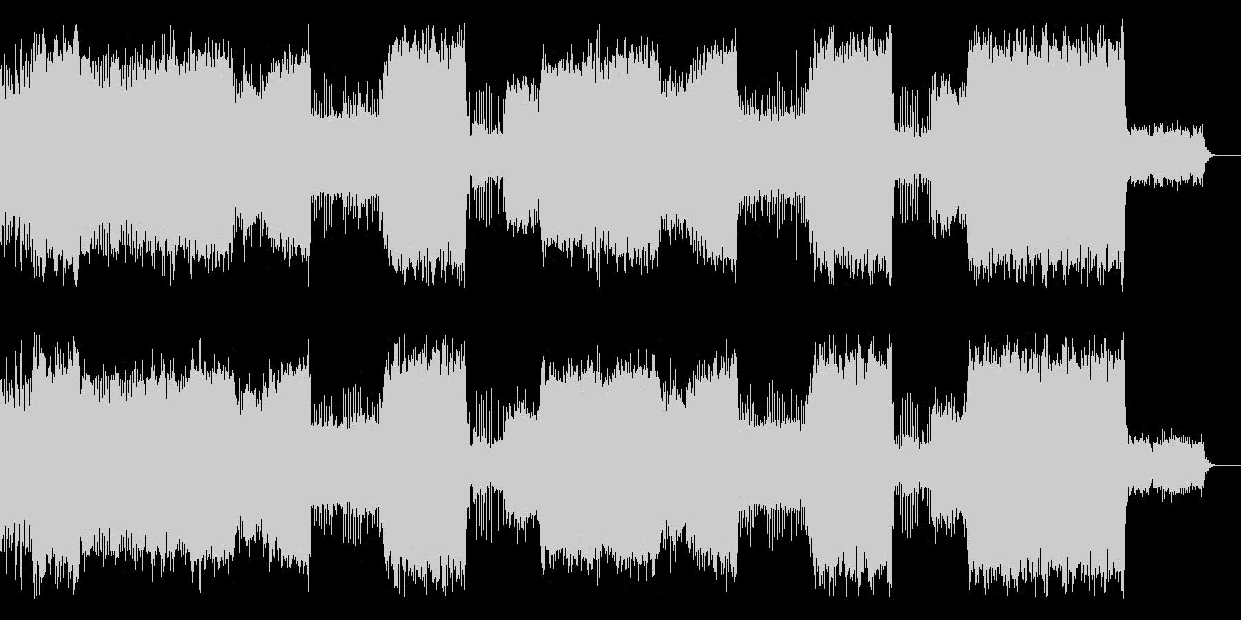 House/EDM/クラブ系ダンス/軽快の未再生の波形