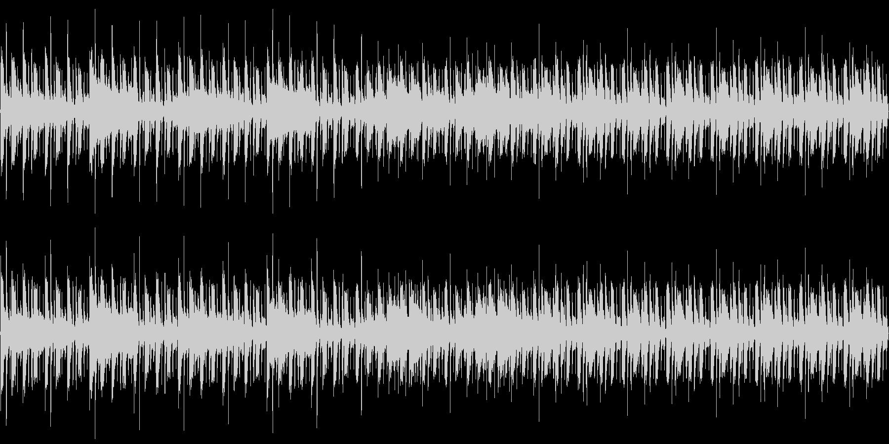 CM用BGMの未再生の波形