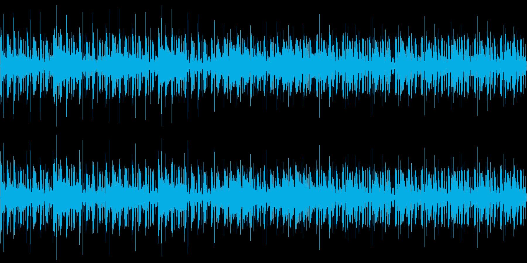 CM用BGMの再生済みの波形