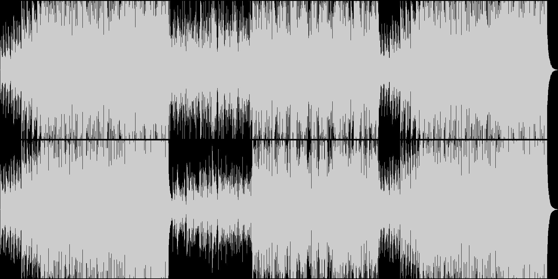 フィドルが楽しいい躍動感のあるケルト音楽の未再生の波形
