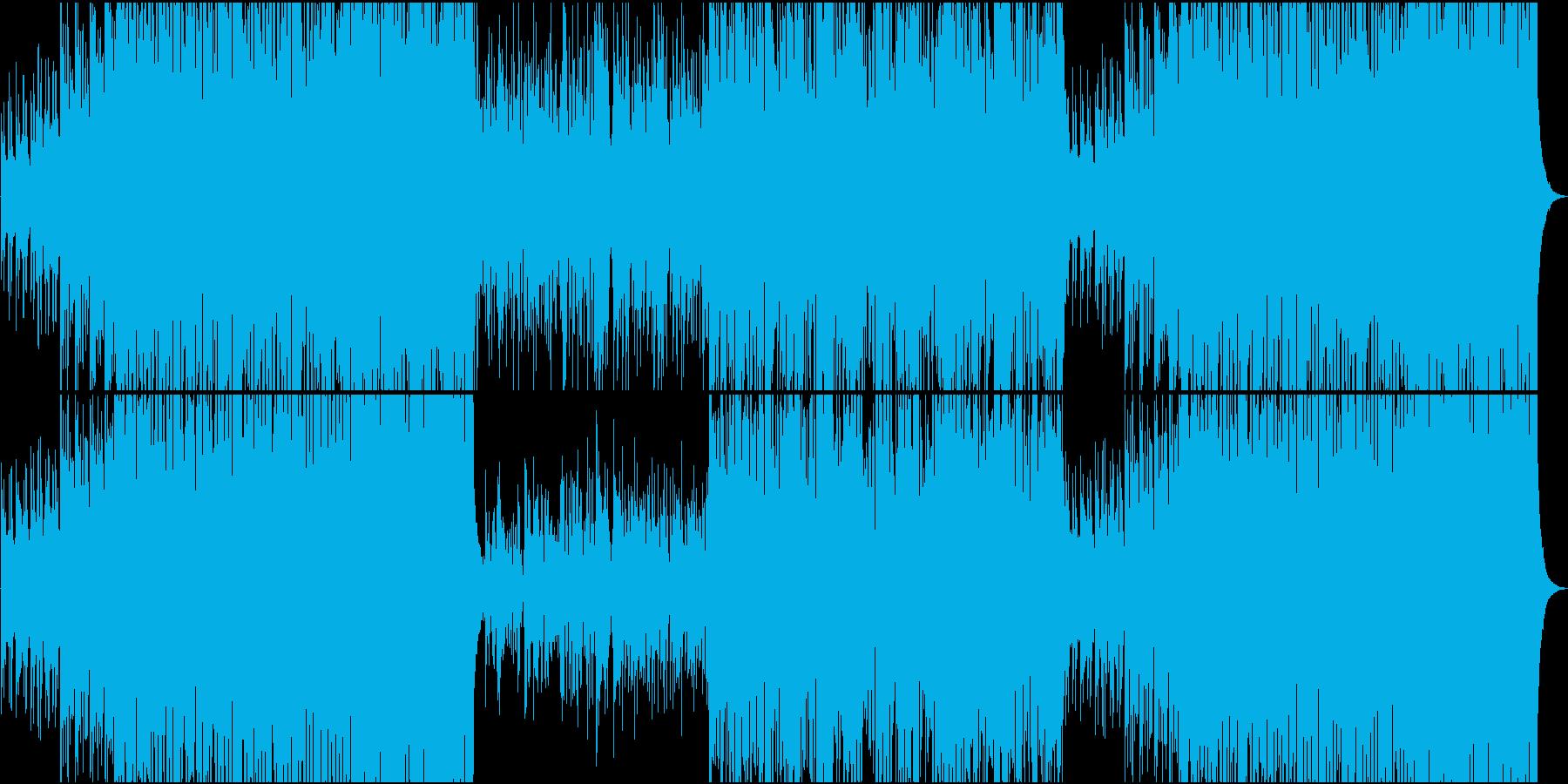 フィドルが楽しいい躍動感のあるケルト音楽の再生済みの波形