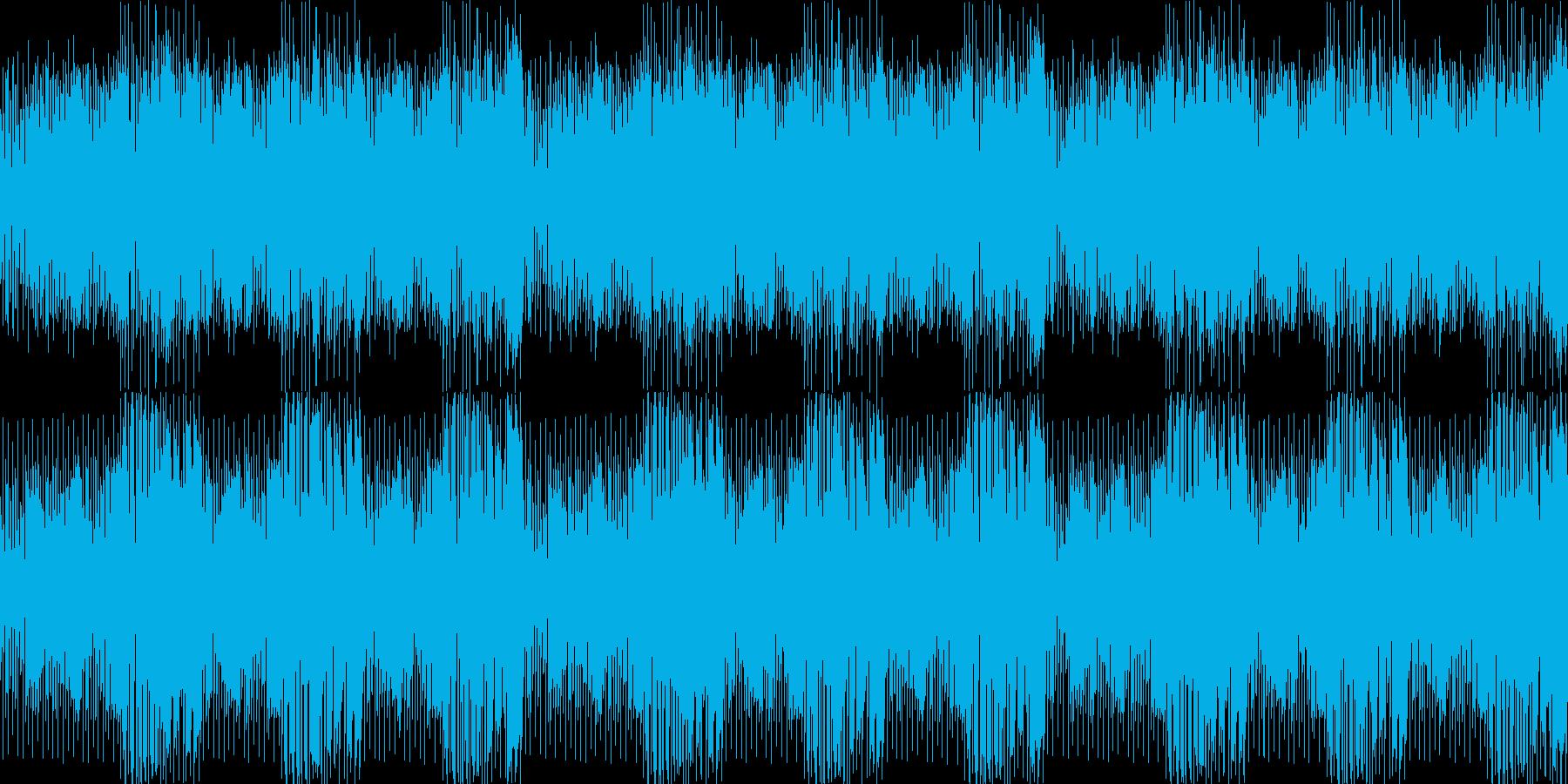 レッスンをしている感じの再生済みの波形