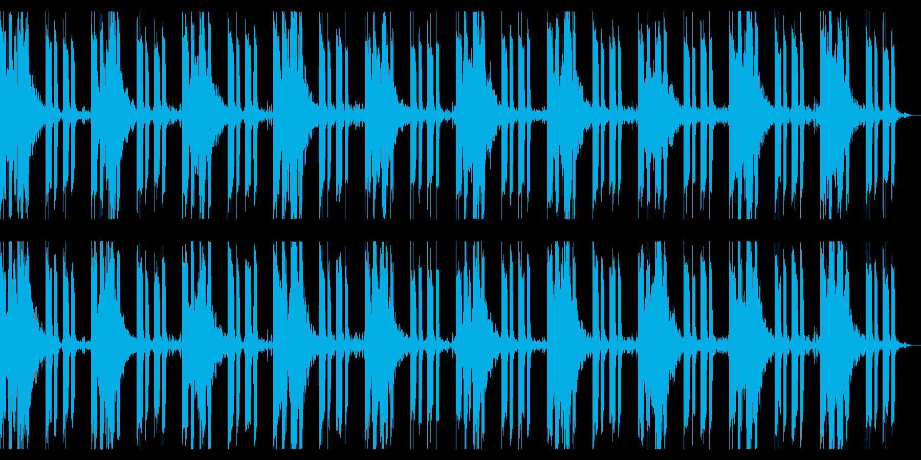 インザダーク 淡々と闇の恐怖感を演出の再生済みの波形