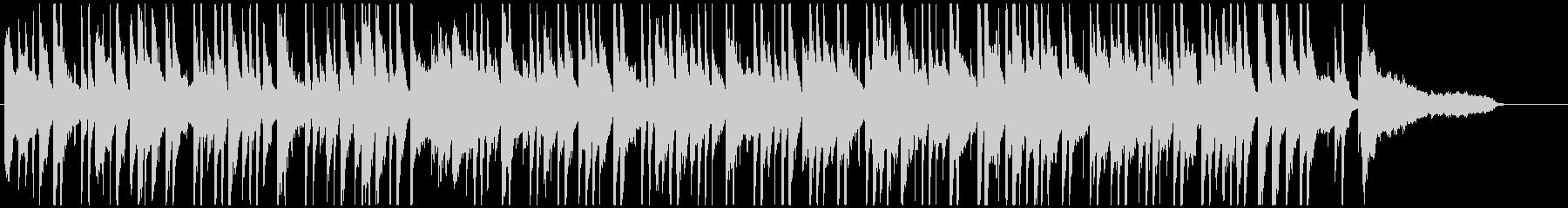 オシャレなラウンジ風のボサノバ(短め)の未再生の波形