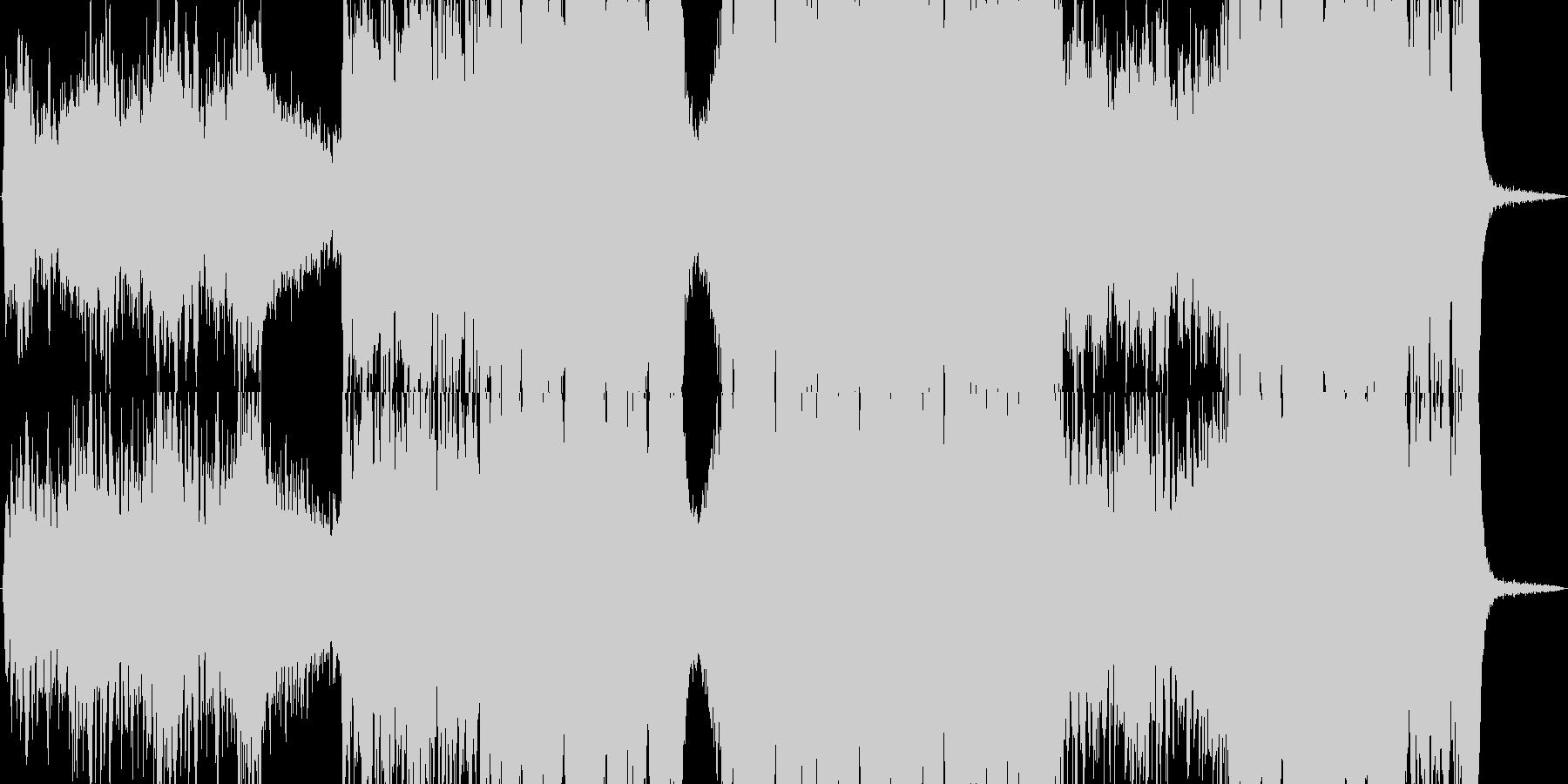 【ドラム無し】エピック・オーケス…怒りの未再生の波形
