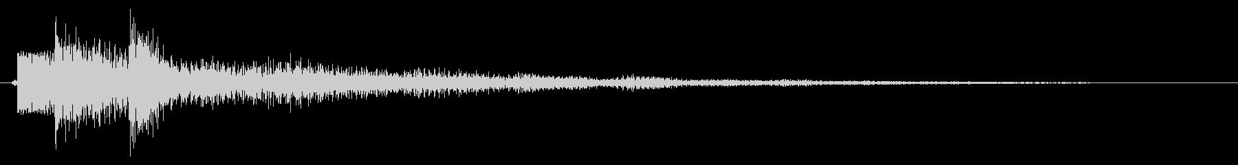 レベルアップ/説明/補足の未再生の波形