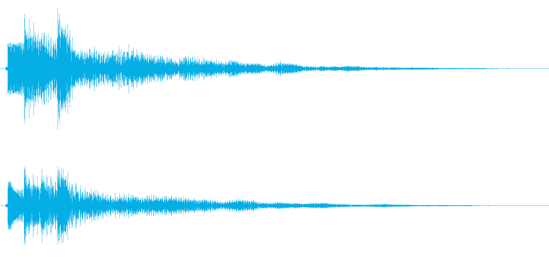 レベルアップ/説明/補足の再生済みの波形