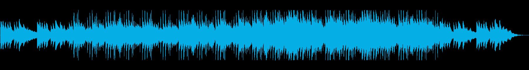 哀愁漂う美しいピアノ曲の再生済みの波形