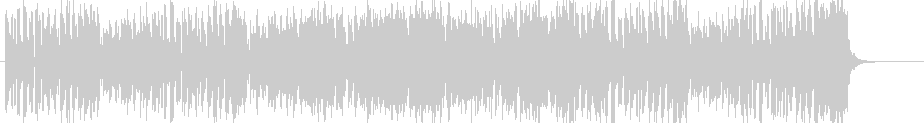 1お菓子CMや小さい動物映像BGM B6の未再生の波形