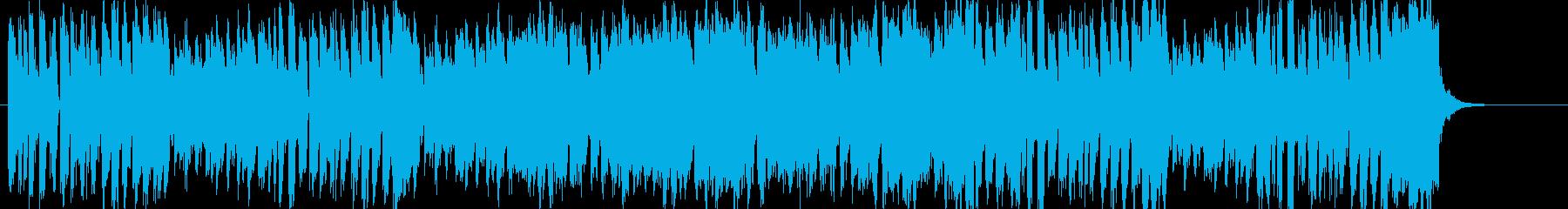 1お菓子CMや小さい動物映像BGM B6の再生済みの波形