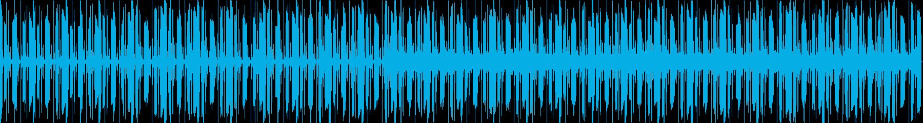 怪しい雰囲気のループ楽曲。の再生済みの波形