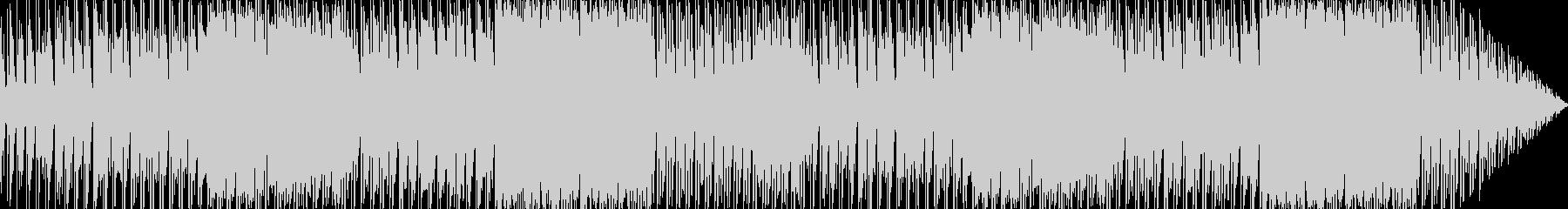 異国の高原をイメージした楽曲の未再生の波形