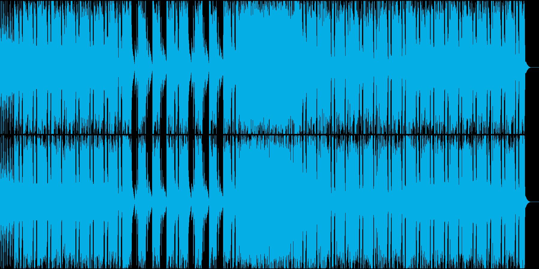 状況の好転を知らせるようなギターロックの再生済みの波形