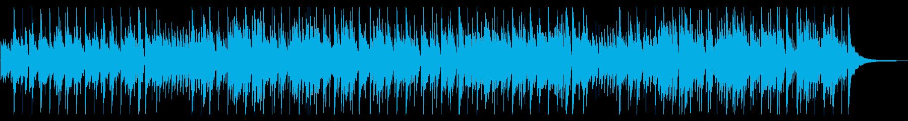 ボサノバとフュージョンの融合の再生済みの波形