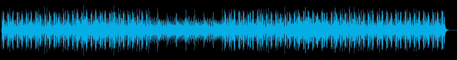 切なく謎めいたミュージックの再生済みの波形