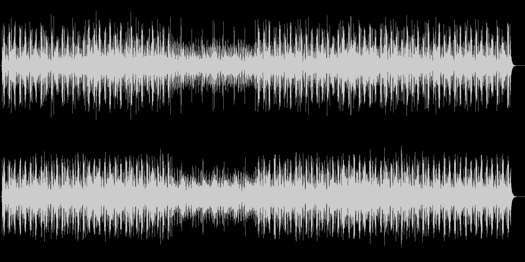 切なく謎めいたミュージックの未再生の波形