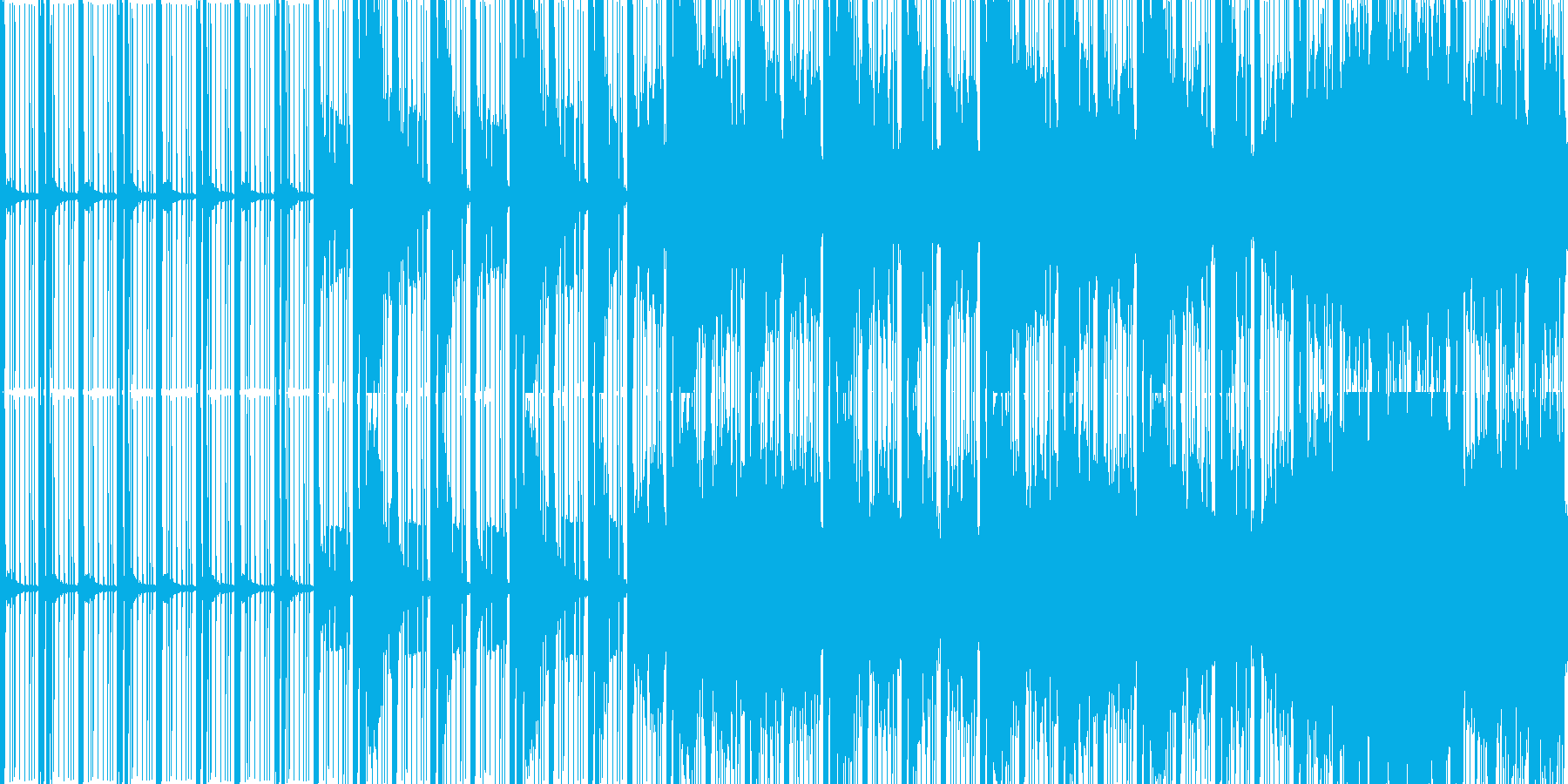 ループ暗く静かなエレクトロニカ選択画面他の再生済みの波形
