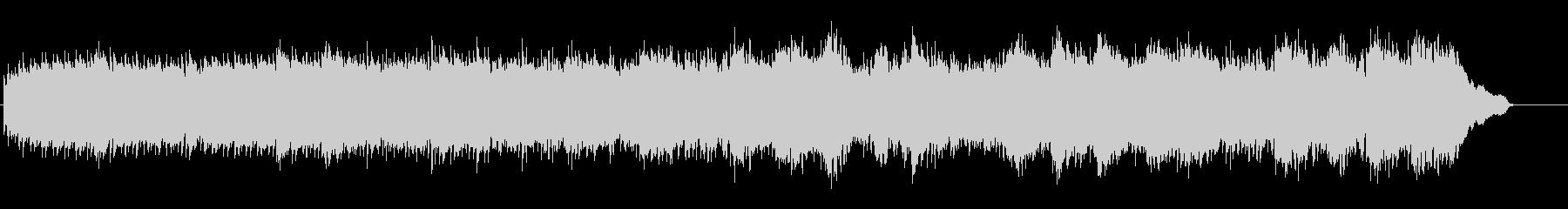 ピアノと弦楽器のおしゃれな映像用BGMの未再生の波形