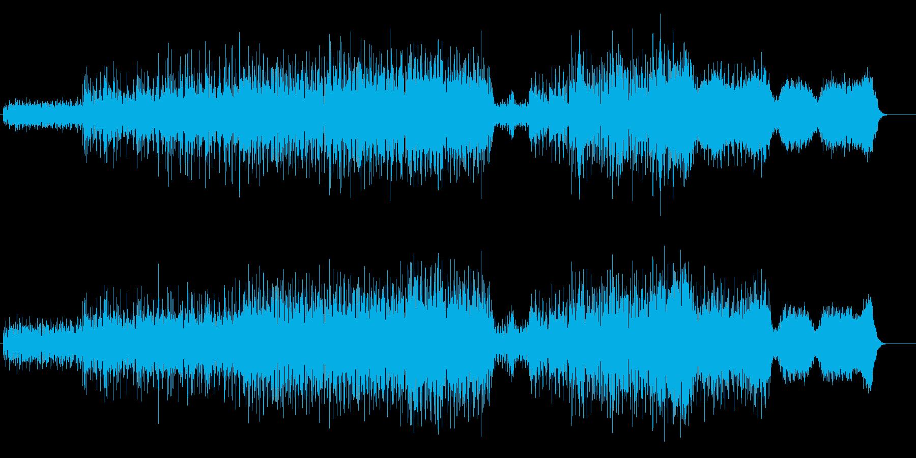 ユーロが熱いハイセンスなマイナー・テクノの再生済みの波形