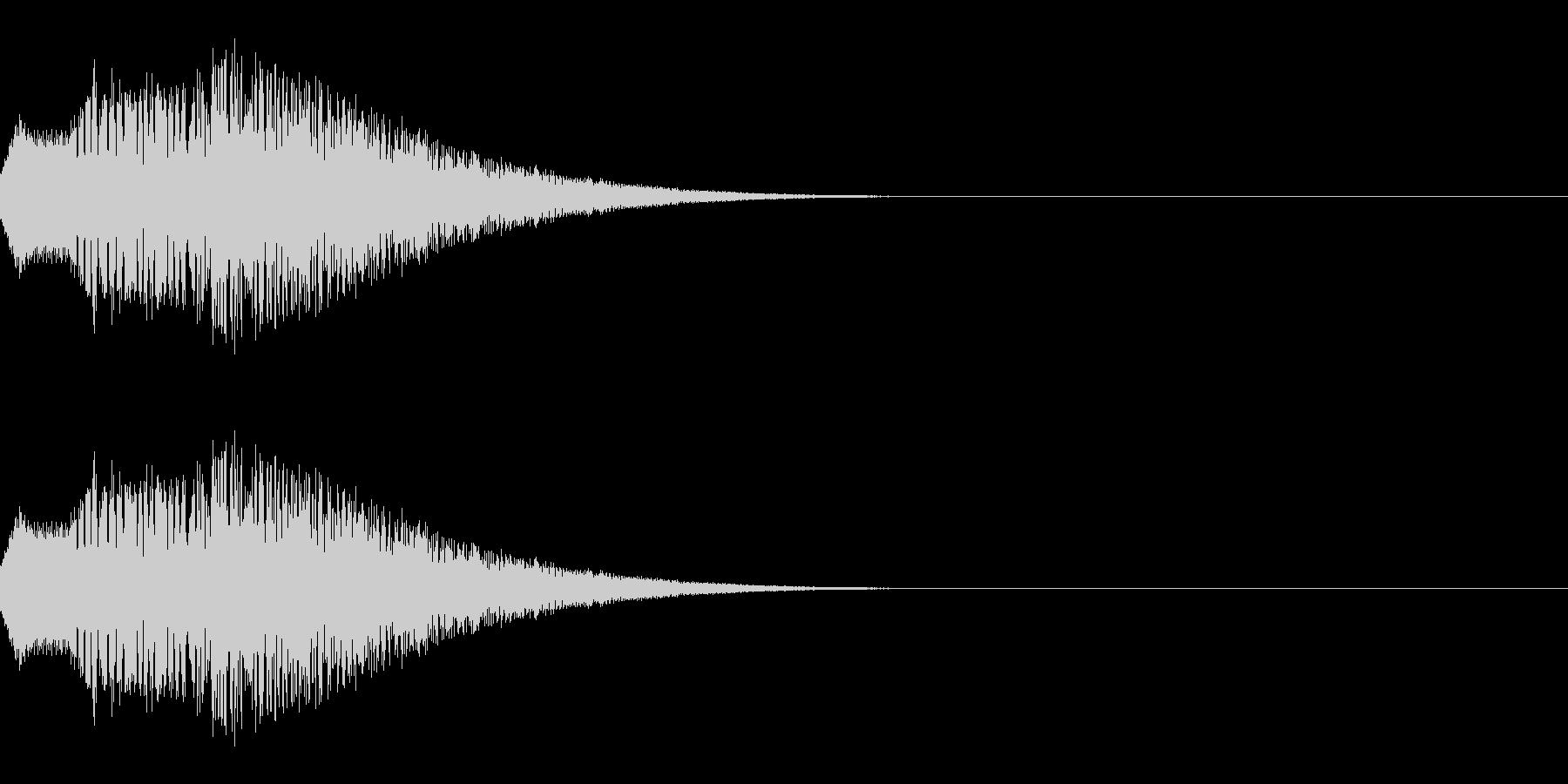 ポップな上昇系の効果音_その2の未再生の波形