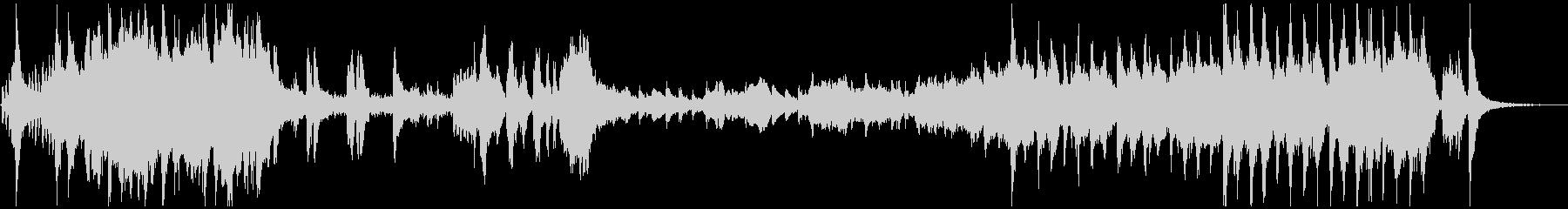アドベンチャー映画音楽風のオーケストラ曲の未再生の波形