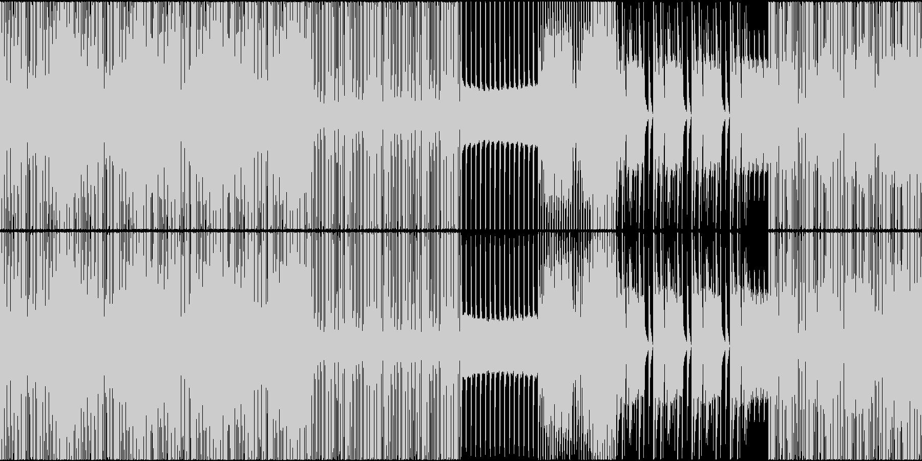 HIPHOP トロピカル EDM ループの未再生の波形