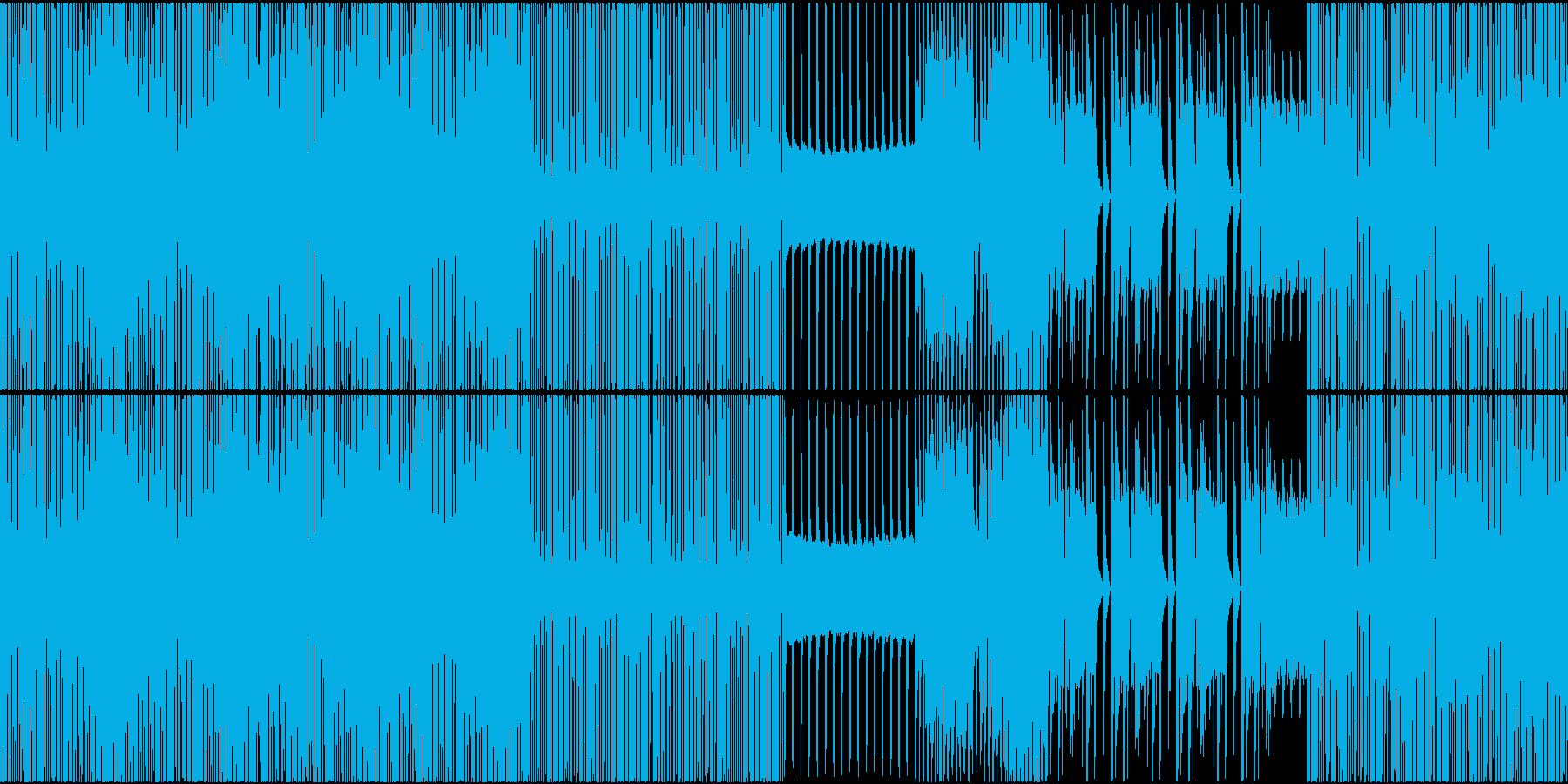 HIPHOP トロピカル EDM ループの再生済みの波形