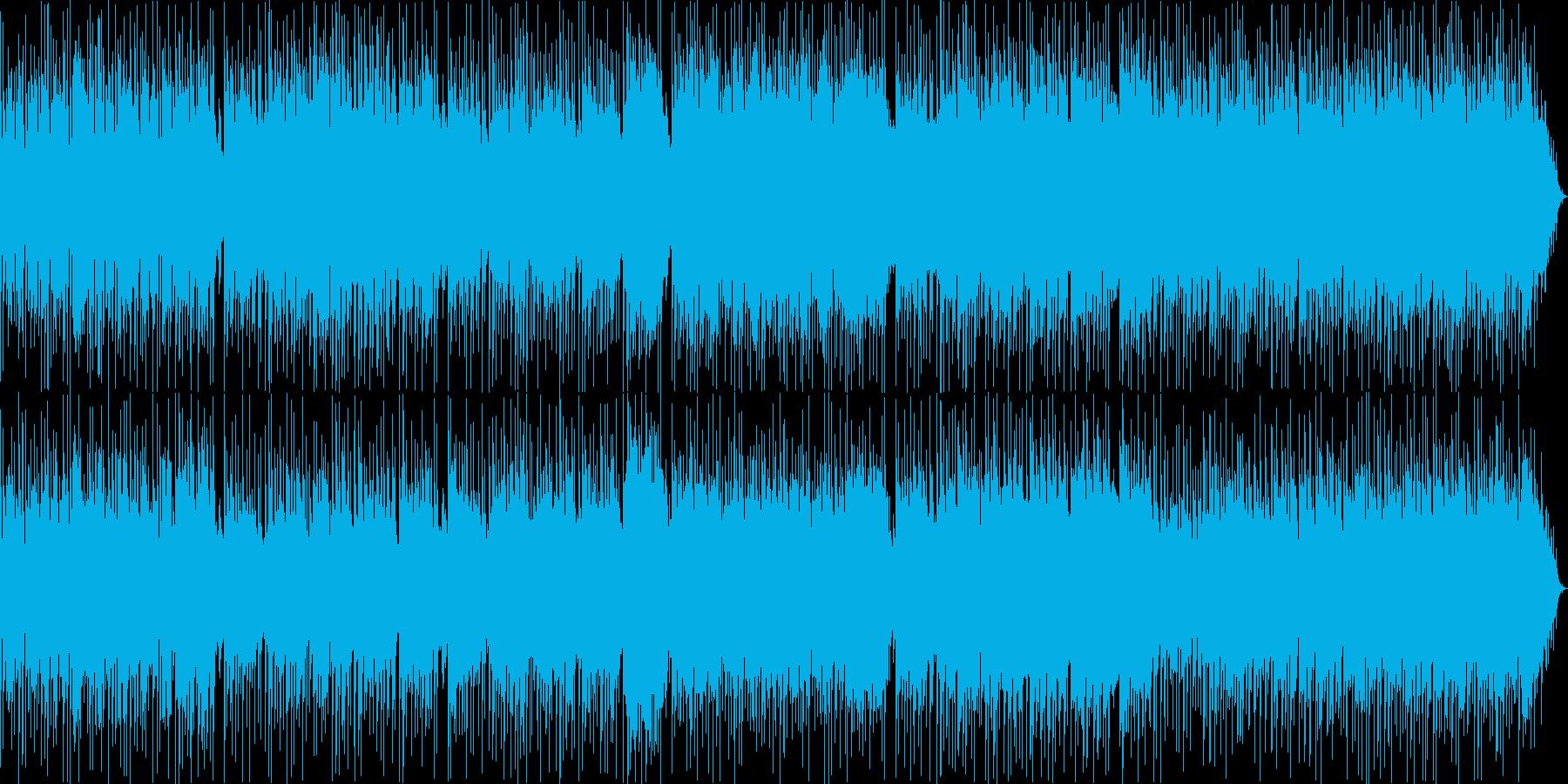 戦わない歌の再生済みの波形