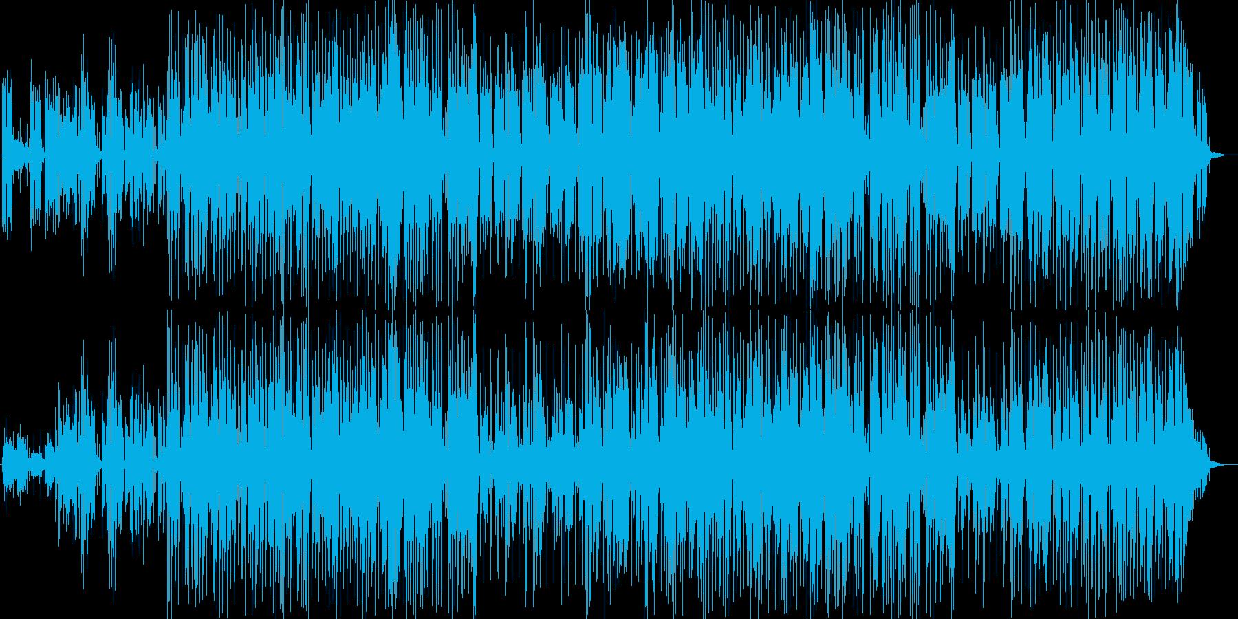 主題にみるエフェクトが楽しいフュージョンの再生済みの波形