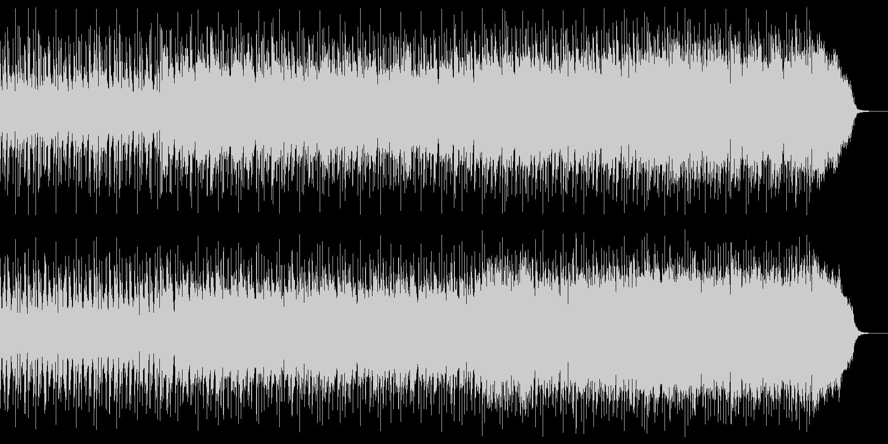 ほのぼのした雰囲気のエレクトロの未再生の波形