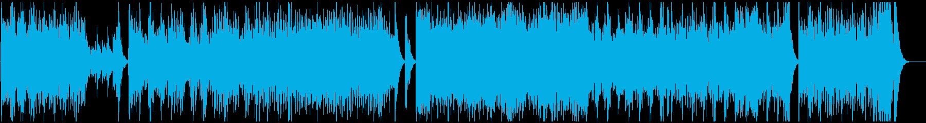 力強いフレージングで展開する弦楽曲の再生済みの波形