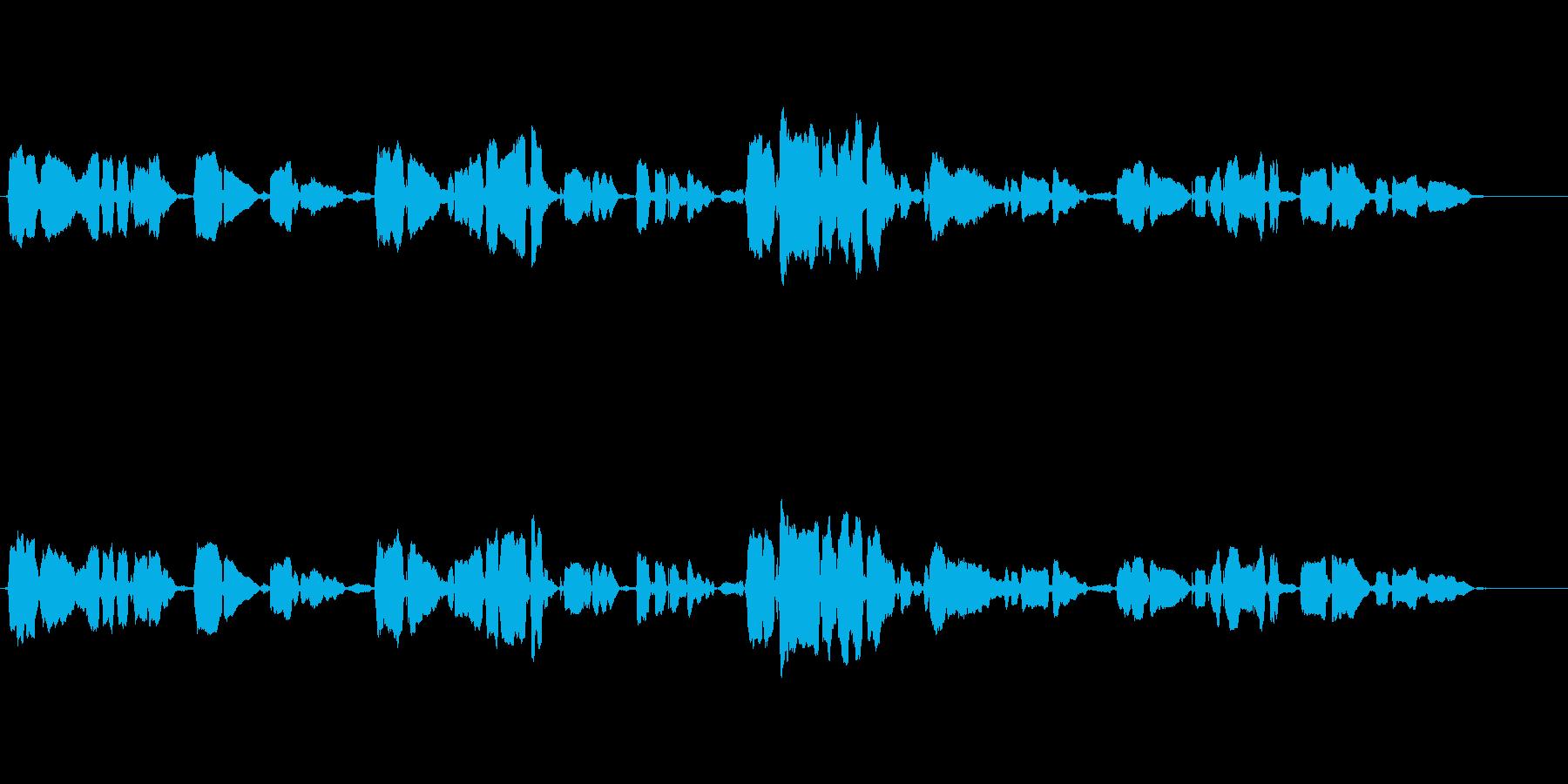 朧月夜 アカペラ ハスキーで繊細な歌声の再生済みの波形