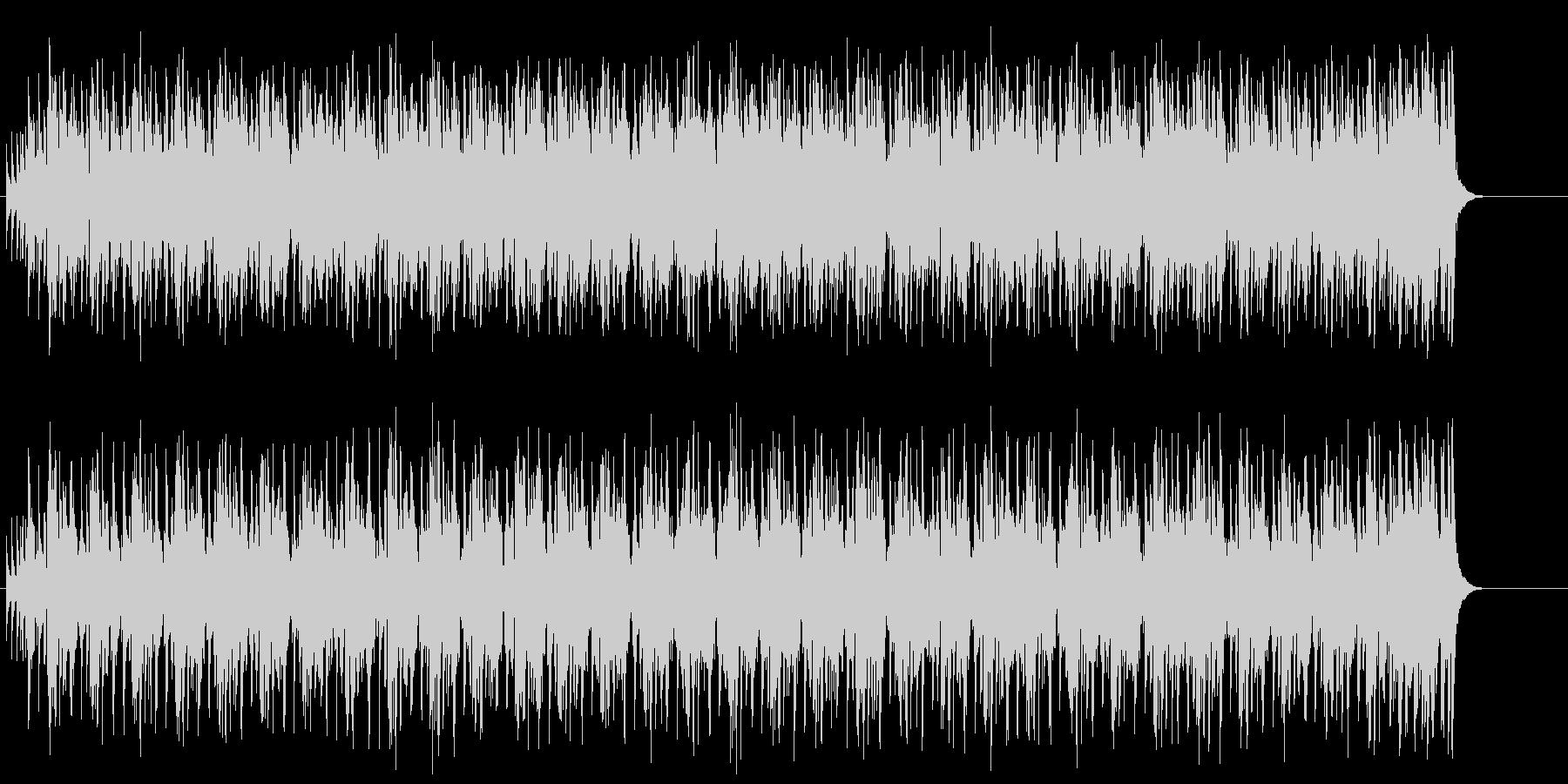 エレガントでシックなミディアム・ポップスの未再生の波形