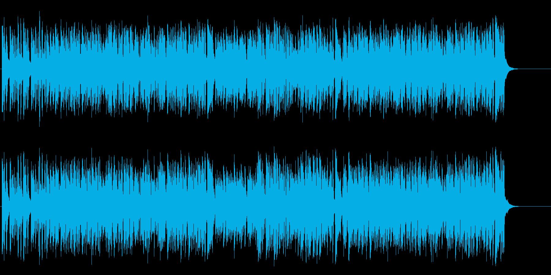 ゆったり爽やかなビッグ・バンド・ジャズの再生済みの波形