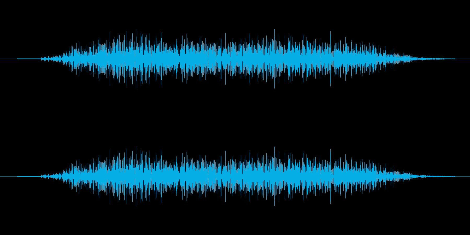シュイッ(スワイプ、アイテム、収拾、選択の再生済みの波形