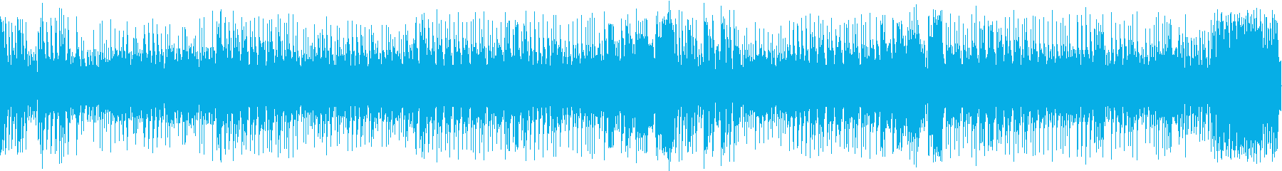 8bit 爽快なダークファンタジーBGMの再生済みの波形