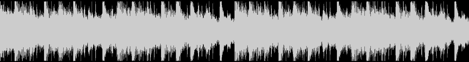 躍動感,オシャレCM、ループ1の未再生の波形