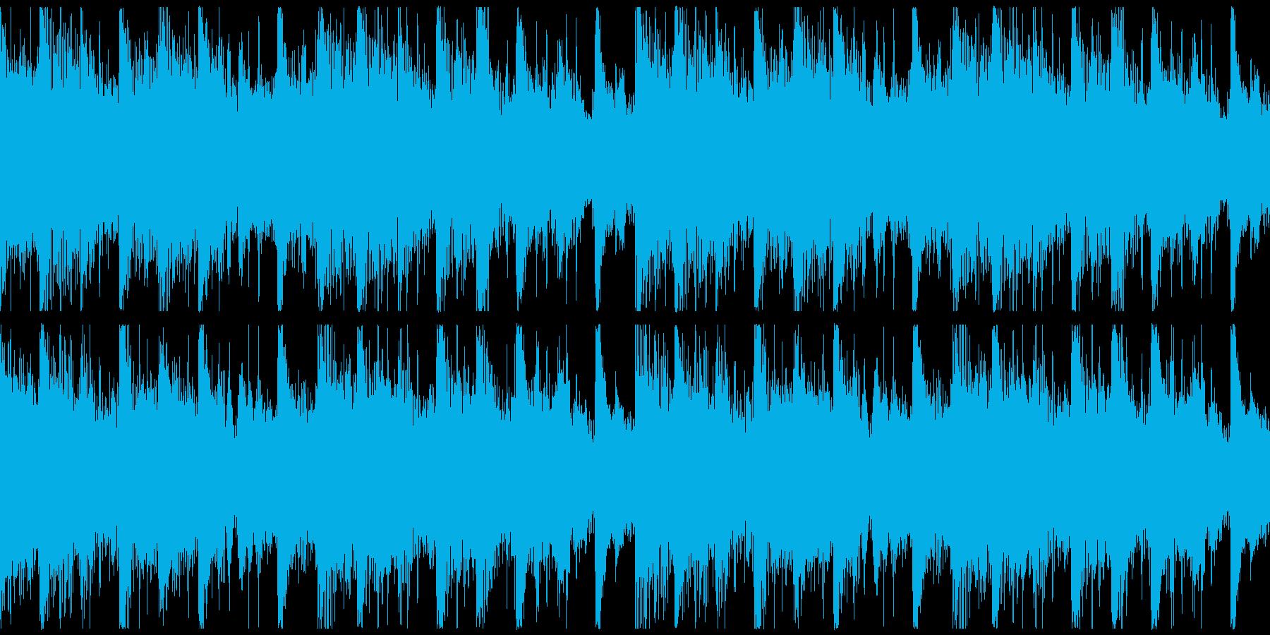 躍動感,オシャレCM、ループ1の再生済みの波形