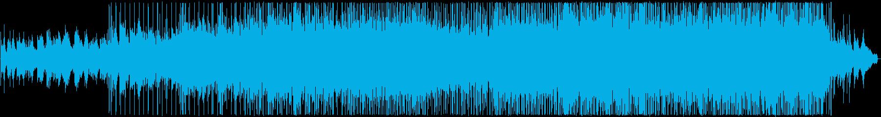 悲しい雰囲気のバラードの再生済みの波形