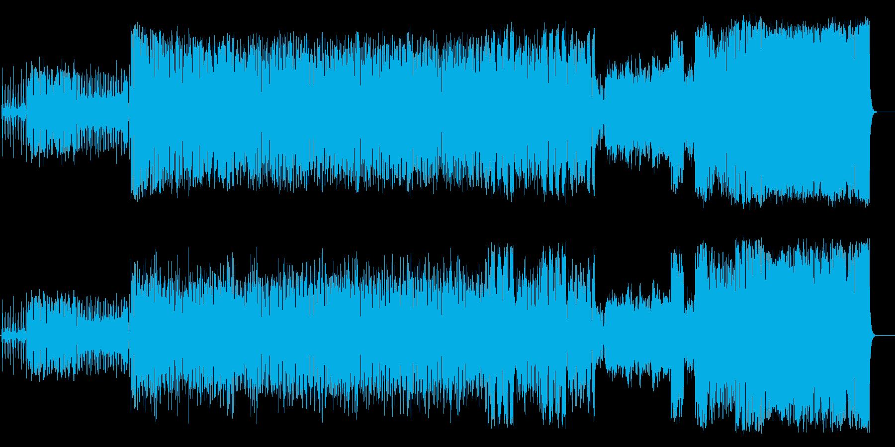 マーチ ブラスバンド 入場行進 運動会の再生済みの波形
