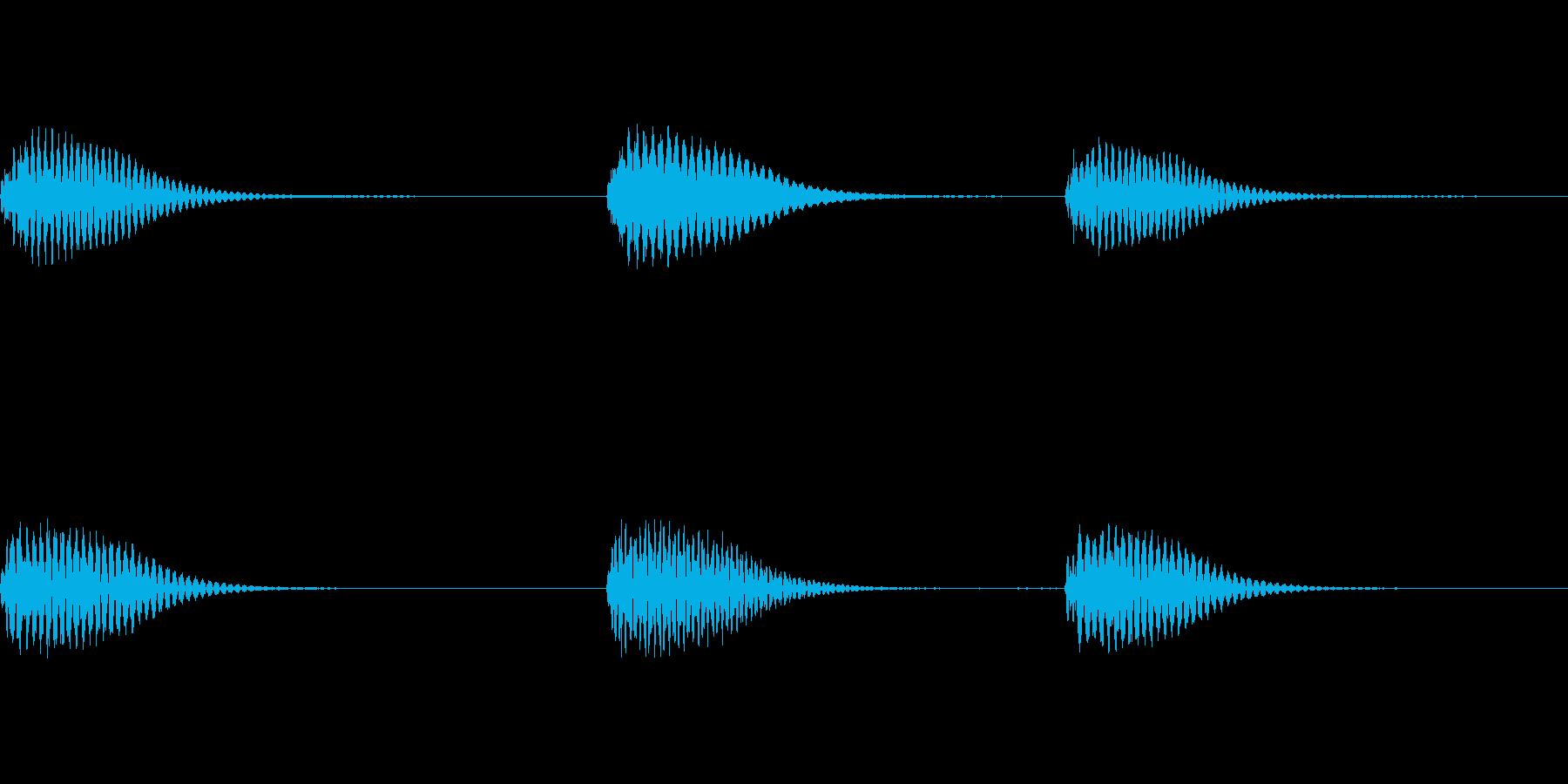 CMに合うようなピアノサウンドロゴの再生済みの波形
