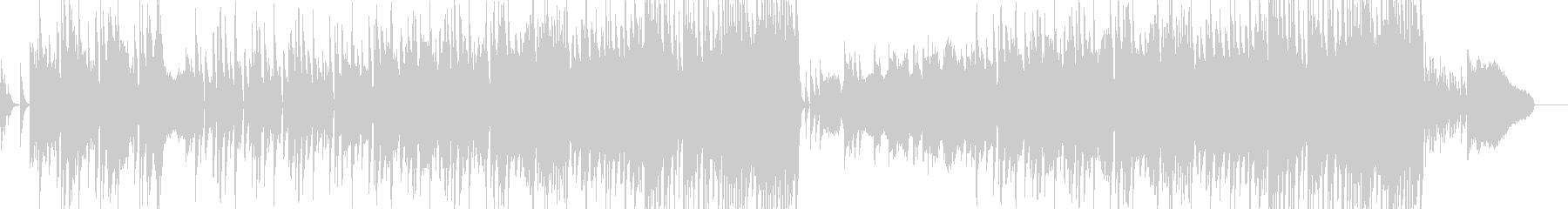 和風島唄風企業VPBGMオーケストラCMの未再生の波形